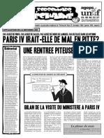 Le Sorbonnard Déchaîné n°3 (dec/jan 2005-2006)