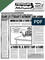Le Sorbonnard Déchaîné n°6 (avril/mai 2006)