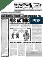 Le Sorbonnard Déchaîné n°10 (fev/mars 2007)