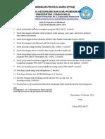 Kelengkapan Dan Form Pernyataan PPG-SM3T LPTK Unsyiah