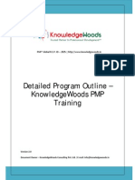 KnowledgeWoods Detailed Program Outline