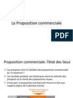 La Proposition Commerciale