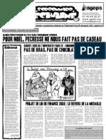 Le Sorbonnard Déchaîné n°15 (dec 2007)