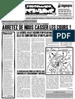 Le Sorbonnard Déchaîné n°16 (jan 2008)
