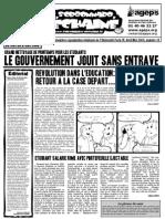 Le Sorbonnard Déchaîné n°19 (avril/mai 2008)