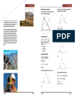 Practica 09 Teorema de Senos y Cosenos Basico