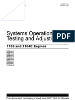 Perkins 1103 and 1104c Engines Systems Operation Testing and Adjusting