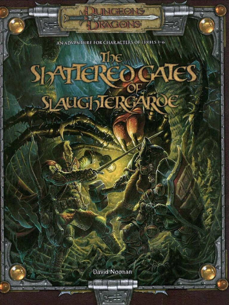 the shattered gates of slaughtergarde 3.5 pdf torrent