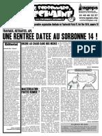 Le Sorbonnard Déchaîné n°28 (oct/nov 2010)