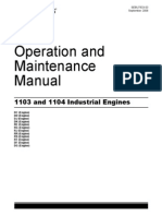 Perkins 1103 and 1104c Operation and Maintenance Manual