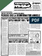 Le Sorbonnard Déchaîné n°20 (oct 2008)