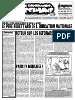 Le Sorbonnard Déchaîné n°21 (dec/jan 2008-2009)