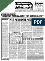 Le Sorbonnard Déchaîné n°24 (oct 2009)