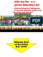 Session 1 - R.a.10157 Kindergarten EducAct