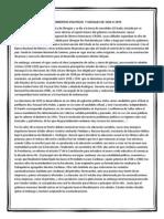 Acontecimientos Politicos y Sociales de 1920 a 1970