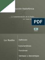 Generalidades de La Radio