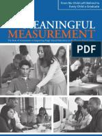Meaningful Measurement