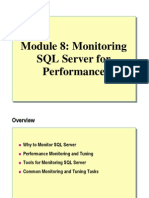 08. Monitoring SQL Server for Performance