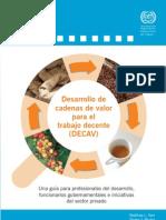 Desarrollo de cadenas de valor para el trabajo decente - ILO