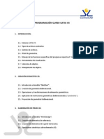 Temario CATIA V5