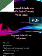 Programas de Estudios 1 Grado