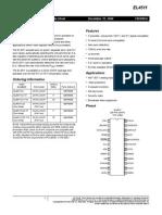 EL4511 Fn7009 Data Sheet