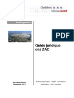SCET Guide opération ZAC