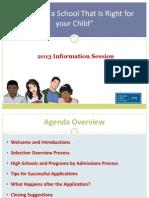 parent night counselor presentation sept 2013