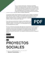 Trabajo Proyectosocial Resumen