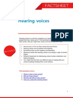 Hearing Voices Factsheet