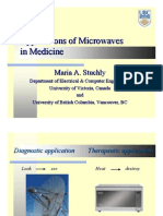 Applications Microwaves Medicine