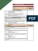 TICA Phase II Checklist Final