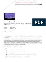 Metrics and Models in Software Quality Engineering, 2ed [Addison Wesley'2002]