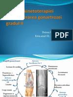 Efectele kinetoterapiei gonartroza