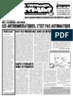 Le Sorbonnard Déchaîné n°31 (juin/juill 2011)
