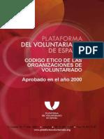 Codigo Etico Organizaciones de Voluntariado