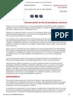 Manual de operación y gestión de la carne de cámara frigorífica001