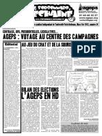 Le Sorbonnard Déchaîné n°34 (mars/avril 2012)