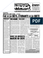 Le Sorbonnard Déchaîné n°36 (dec/jan 2012-2013)