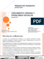 Crecimiento Urbano y Problemas Sociales........