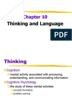 ch10 thinking and language