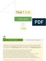 Accounting Test for Course 1. Part A
