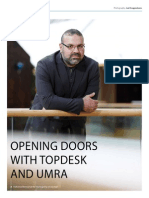 Opening Doors with TOPdesk and UMRA