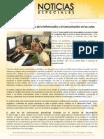 Uso de las Tecnologías de la Información y la Comunicación en las aulas