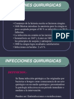 infeccion quirurgica