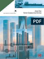 John Zink - ATTACH H VCU Catalogs Leaflets (Brochure)