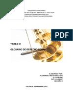 Glosario Derecho Penal