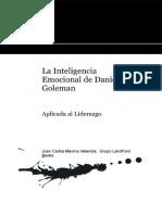 La Inteligencia Emocional de Daniel Goleman Aplicada Al Liderazgo