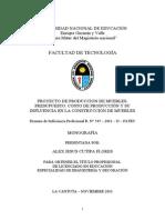 Monografía - Proyecto de produccion de muebles.doc
