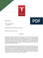 Tesla Strategic Analysis